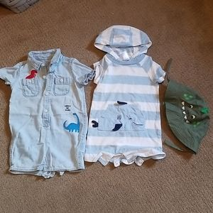 BABY  BOY  3 LOT GAP & CARTERS  SIZE 6-12 M